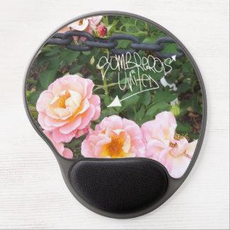 Mousepad De Gel Embreagem cor-de-rosa do tapete do rato do gel e