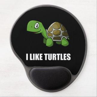 Mousepad De Gel Eu gosto de tartarugas
