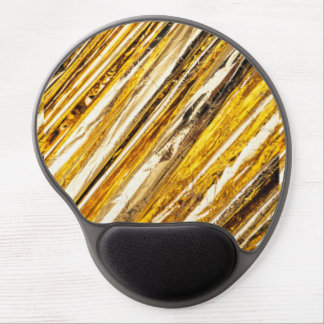 Mousepad De Gel Folha de ouro cintilante de Falln
