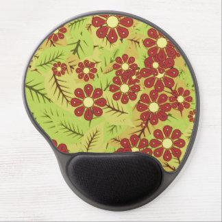 Mousepad De Gel Folha e flores