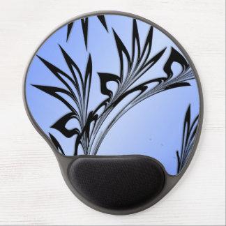 Mousepad De Gel Folha enrolada no azul