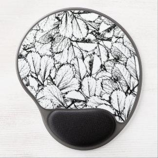 Mousepad De Gel Folhas do branco