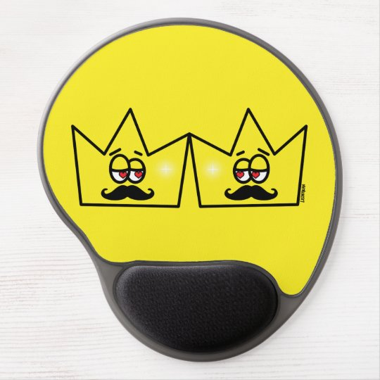 Mousepad De Gel Gay Rei Coroa King Crown