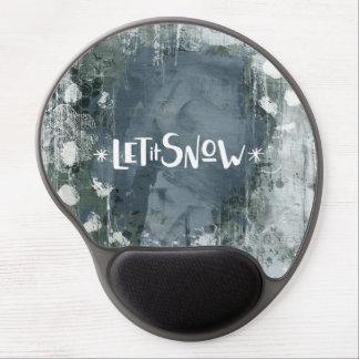 Mousepad De Gel Gel feito sob encomenda Mousepad - deixe-o nevar