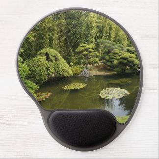Mousepad De Gel Gel japonês Mousepad da lagoa do jardim de chá de