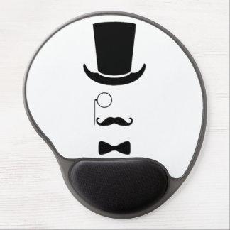 Mousepad De Gel Gel Mousepad da cara do hipster