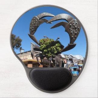 Mousepad De Gel Gel Mousepad da estátua do caranguejo do cais 39