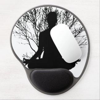 Mousepad De Gel Gel Mousepad da meditação do zen