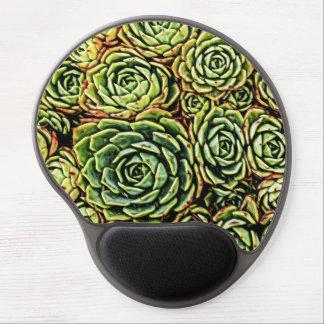 Mousepad De Gel Gel Mousepad dos Succulents