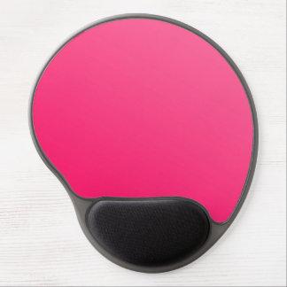 Mousepad De Gel Gel preto cor-de-rosa brilhante de néon quente