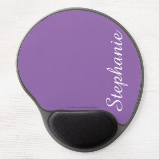 Mousepad De Gel Gel roxo contínuo Mousepad, personalizado