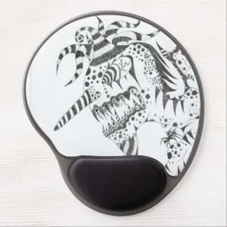 Mousepad De Gel Gel torcido Mousepad de Tedd