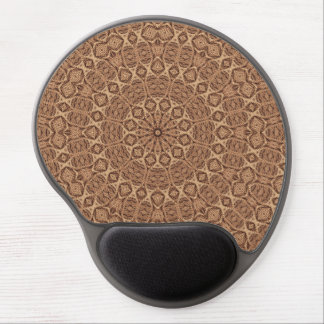 Mousepad De Gel Gel torcido Mousepad do caleidoscópio do vintage