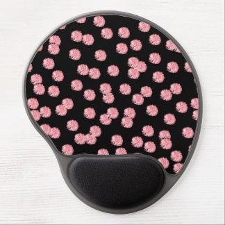 Mousepad De Gel Gel vermelho Mousepad das bolinhas