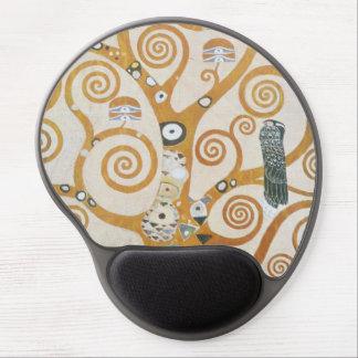 Mousepad De Gel Gustavo Klimt a árvore da arte Nouveau da vida