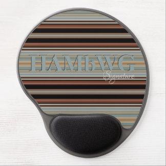 Mousepad De Gel HAMbyWG - tapete do rato do gel - noite & dia