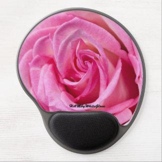 Mousepad De Gel HAMbyWG - tapete do rato do gel - rosa do rosa