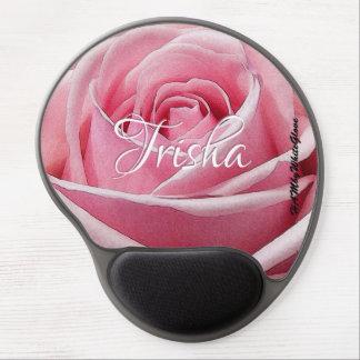 Mousepad De Gel HAMbyWG - tapete do rato do gel - rosa pálido