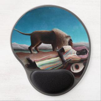 Mousepad De Gel Henri Rousseau o vintage aciganado do sono