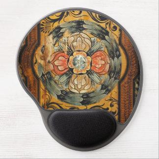 Mousepad De Gel hist gótico velho do vintage de madeira medieval
