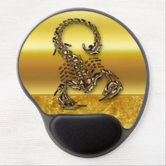 Mousepad De Gel Inseto muito peçonhento venenoso de bronze do
