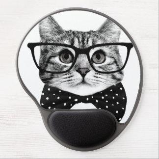 Mousepad De Gel laço do gato - gato dos vidros - gato de vidro