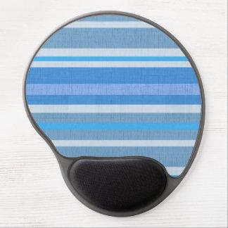 Mousepad De Gel Listras azuis