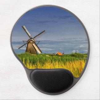 Mousepad De Gel Moinhos de vento em Kinderdijk, Holland, Países