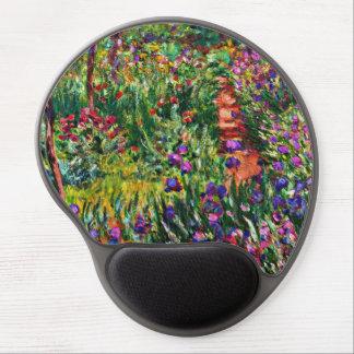 Mousepad De Gel Monet - o jardim da íris em Giverny