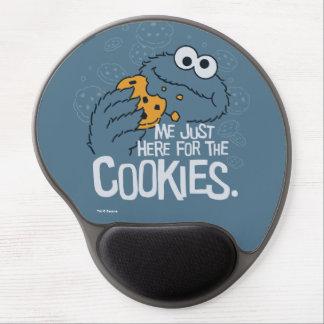 Mousepad De Gel Monstro do biscoito | mim apenas aqui para os