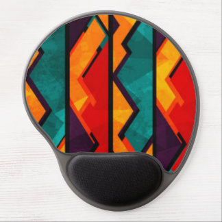 Mousepad De Gel Multi design colorido africano do impressão do