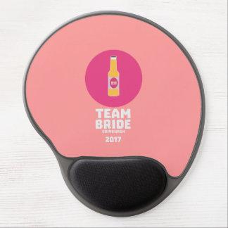 Mousepad De Gel Noiva Edimburgo da equipe Henparty 2017 Z513r