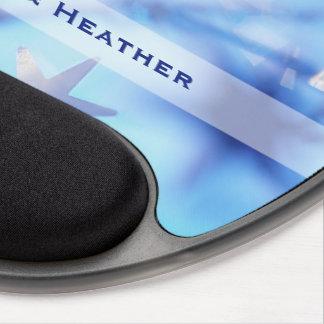 Mousepad De Gel Nome feito sob encomenda, primeira faísca do
