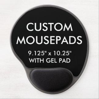 Mousepad De Gel O costume personalizou o modelo do vazio do tapete