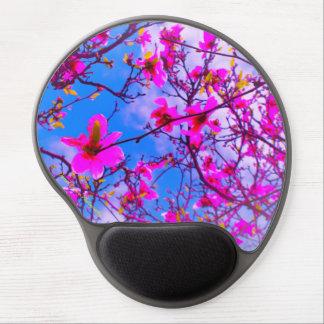 Mousepad De Gel O gel Mousepad, cor aumentou a foto da árvore da