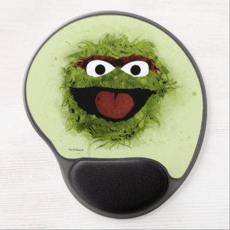 Mousepad De Gel Oscar a tendência da aguarela do Grouch |