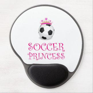 Mousepad De Gel Princesa do futebol