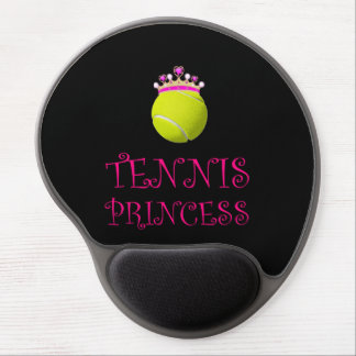 Mousepad De Gel Princesa do tênis