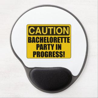 Mousepad De Gel Progresso da festa de solteira do cuidado