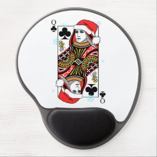 Mousepad De Gel Rainha do Feliz Natal dos clubes