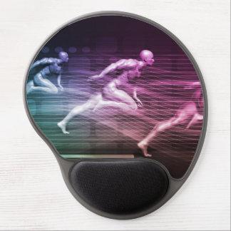 Mousepad De Gel Soluções e velocidade integradas do elevado