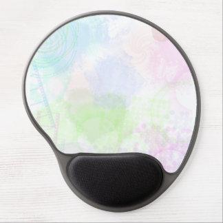 Mousepad De Gel tapete do rato de néon dos doces 2