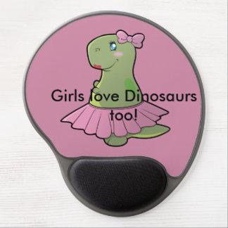 Mousepad De Gel Tapete do rato de T-Rex do dinossauro
