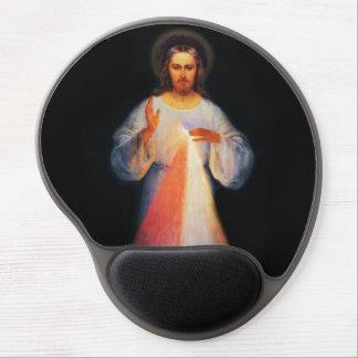 Mousepad De Gel Tapete do rato divino do gel do compaixão de Jesus