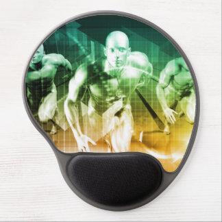 Mousepad De Gel Tecnologia avançada como ELE fundo do conceito
