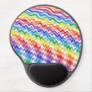 Mousepad De Gel Um arco-íris rítmico