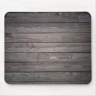 mousepad de madeira do estilo