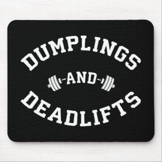 Mousepad Deadlifts e bolinhas de massa - novidade de