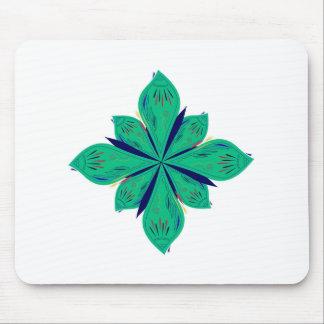 Mousepad Deco verde de Ethno da mandala