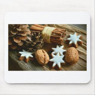 Mousepad Decoração abstrata dos doces da Noite de Natal